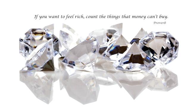 Feel really rich