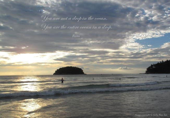 Rumi You are the Ocean